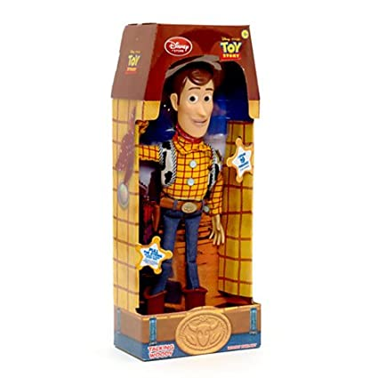 Amazoncom Disney Toy Story 16 Talking Woody Doll Toys Games