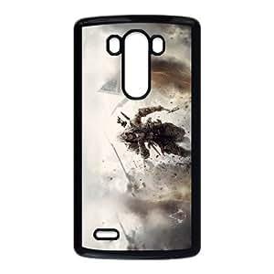Assassins Creed 3 Juego 11851 Funda LG G3 Funda del teléfono celular Caso Negro D4S8BU5A único DIY Funda del teléfono celular