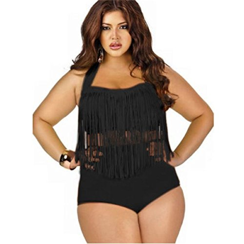 fc7e1dc0360e9 Evaliana Oversized Halter Bikini Maternity Swimwear Plus Size Swimsuit  Bathing