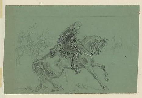 American Civil War,General George Custer,Stephen Ramseur,Cavalry,Union Military