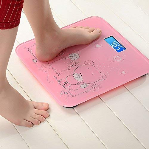 I-Kara Digital Weighing Machine for Human Body Weight with Room Temperature Display (Multicolour)