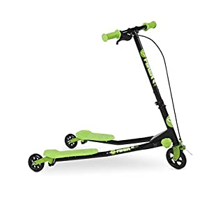 Yvolution Scooter Fliker Air 1 Green Ride On
