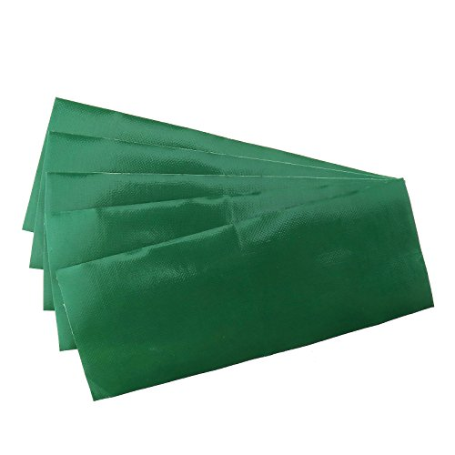 Creative Idear 5x Waterproof Adhesive Patch Repair Canvas Fiber Tape For Tent/Swag, Green