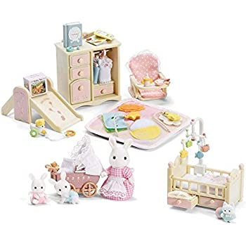 Amazon Com Calico Critters Baby S Nursery Set And A