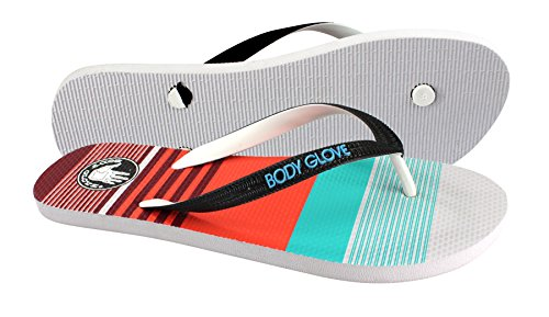 Body Glove Mens Old Skool Flip-flop Sandal Cuda Blå
