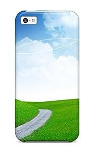 XiFu*MeiRene Kennedy Cooper's Shop New Tpu Hard Case Premium ipod touch 4 Skin Case Cover(green Lanscape) 9340285K81593193XiFu*Mei
