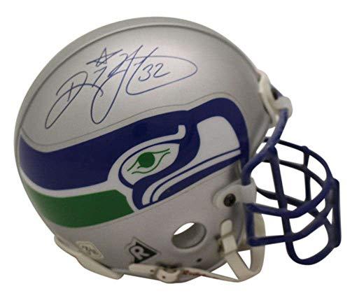 Ricky Watters Signed Seattle Seahawks Authentic TB Mini Helmet Tristar ()
