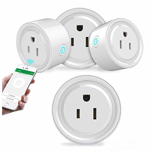 Outlet US Plug WiFi Smart Phone Remote Control Timer Switch Power Socket from UNBRANDED*