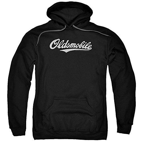 Oldsmobile - Oldsmobile Cursive Logo Adult Pull-Over Hoodie