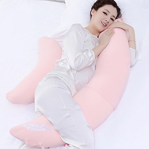 Price comparison product image HDSGFDSHGK pregnancy pillow multifunctional pillow for pregnant women belt pillow side sleeping pillow belly pillow sleeping on the side of the pillow-B