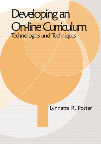 Developing an Online Educational Curriculum: Technologies and Techniques