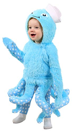 Princess Paradise Octopus Baby/Toddler Costume, As Shown, 12-18 Months