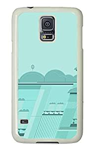 Samsung S5 case online covers Simple Clouds PC White Custom Samsung Galaxy S5 Case Cover by icecream design