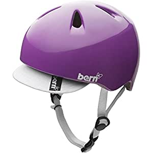 Bern Nina Helmet - Girls' Gloss Purple, S