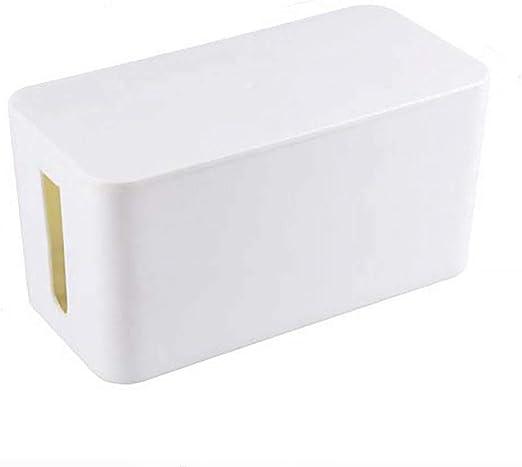 Caja de almacenamiento de plástico para organizar y ordenar el hogar, extraíble, a prueba de polvo, accesorios organizadores (negro) Tamaño libre blanco: Amazon.es: Hogar