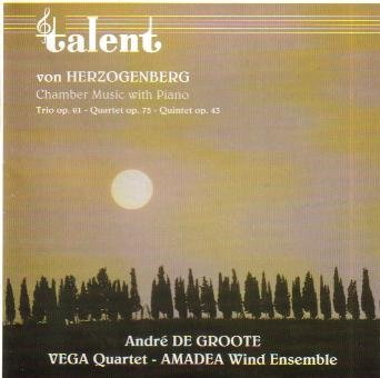 Herzogenberg: Chamber Music With Piano: Piano Quartet in E minor, Op. 75 / Trio in D for Oboe, Horn & Piano, Op. 61 /  Quintet in E flat for Piano, Oboe, Clarinet, Horn & Bassoon, Op. 43