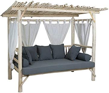 Dabudae Cama con Dosel para Exterior Capri: Amazon.es: Jardín