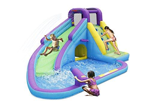 N Slide Bouncer (Bounceland Sun N' Fun Water Slide with Pool and Water)