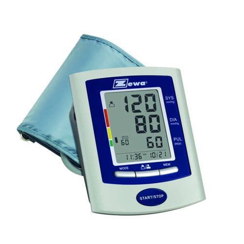 Zewa UAM-880XL Deluxe Automatic Blood Pressure Monitor with