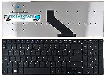 Teclado para Acer Aspire E1-572G SP ESPAÑOL Keyboard Nuevo: Amazon.es: Electrónica