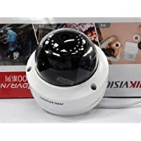 Alicenter(TM) Black&white Fake Surveillance CCTV Home Security Dome Camera with LED Light #B