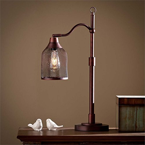 Southern Enterprises Antique (Southern Enterprises Rigby Table Lamp)