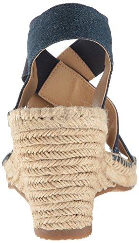 Adrienne Charlene Women's Blue Footwear Espadrille Wedge Sandal Vittadini PUnwUx1