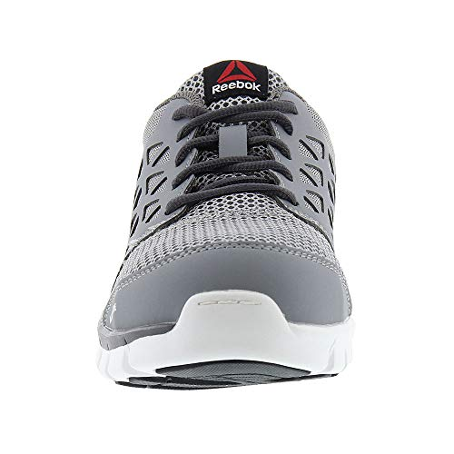 Reebok Work RB4042 Sublite Cushion Mens Grey EH Alloy Toe Athletic Oxford  Shoes ff70192f9