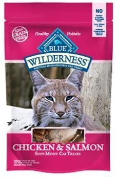 Wilderness Cat Treats – Chicken Salmon 2oz6