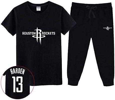 LLSDLS Camiseta NBA Jersey Set Houston Rockets Harden Chris Paul ...