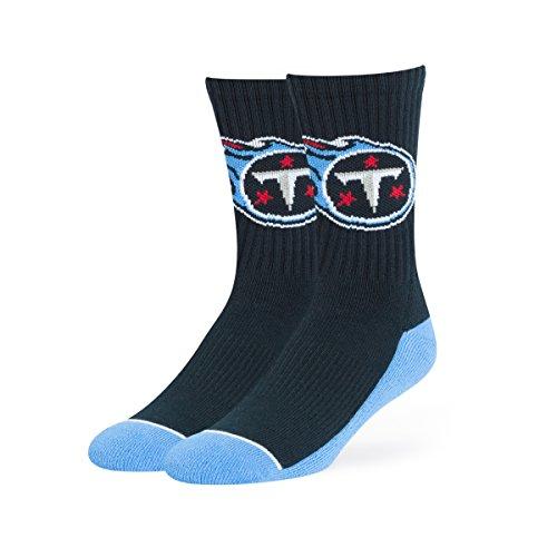 NFL Tennessee Titans OTS Anthem Sport Sock, Navy, Large