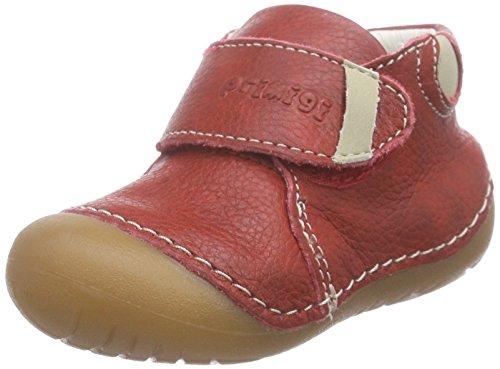 Primigi SPOT-E, Baby Jungen Krabbelschuhe, Rot (ROSSO), 18 EU