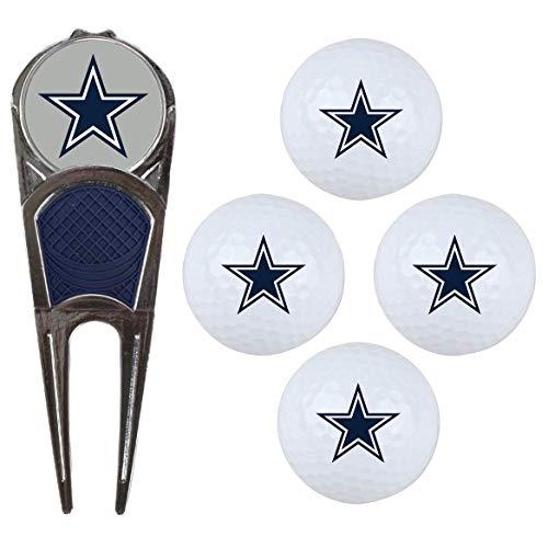 McArthur NFL Logo Golf Balls & Divot Tool Gift Set (Divot Nfl Tool Mcarthur)