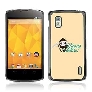 YOYOSHOP [Funny & Cool Ripper Design] LG Google Nexus 4 Case