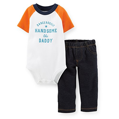 Carter's Baby Boys' 2 Piece Layette Set (Baby) - Handsome - 24 Months