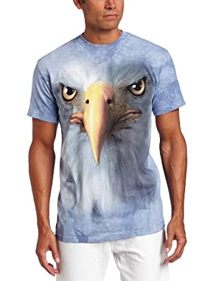 The Mountain Unisex-Adult Eagle Face Short Sleeve T-Shirt