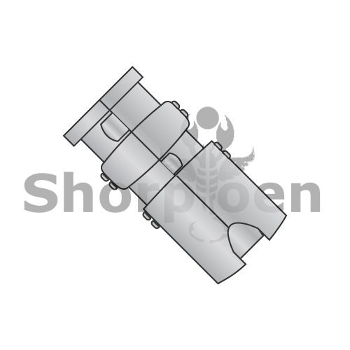Short Single Expansion Anchor Zamac Alloy 5/8 (Box of 25) weight5.5Lbs