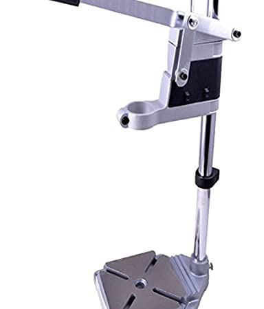 GLOBUS/MEAKIDA/TORK CRAFT Cast Iron Base Drill Stand (Grey) Power Tool Accessories at amazon