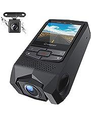 Beamer Crosstour P600, Mini Beamer unterstützt 1080P Full HD, Videobeamer verbindung mit HDMI VGA SD USB AV Gerät Smartphone Heimkino Projektor