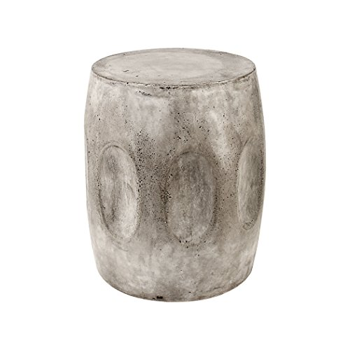 Dimond Home Wotran Waxed Concrete Stool (Table Side Outdoor Concrete)
