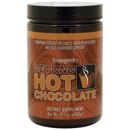 Hot Chocolate Organic cocoa with Reishi mushroom extract - 360g - 5 Pack by Youngevity