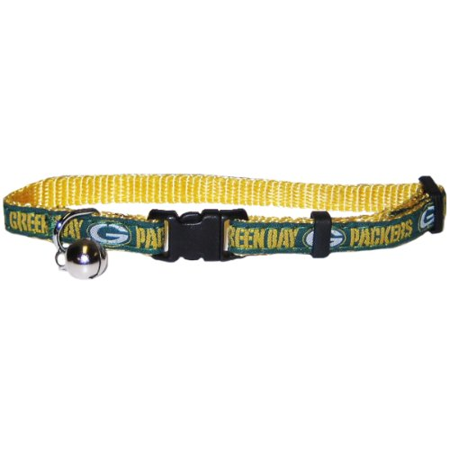 NFL Green Bay Packers Cat Collar - One adjustable size fits most cats