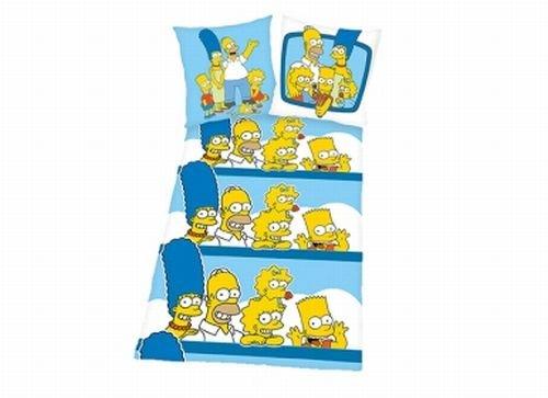 Herding The Simpsons–Microfibra Bettwäsche–Cojín con diseño–Reversible https://amzn.to/2HHM7Uh