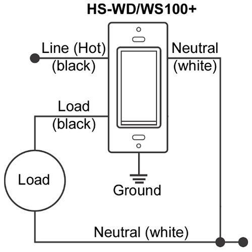 HomeSeer-HS-WD100-Z-Wave-Plus-Scene-Capable-Wall-Dimmer
