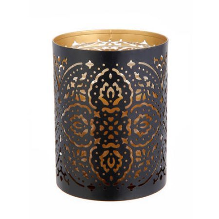Better Homes and Gardens Metal Candle Sleeve, Black