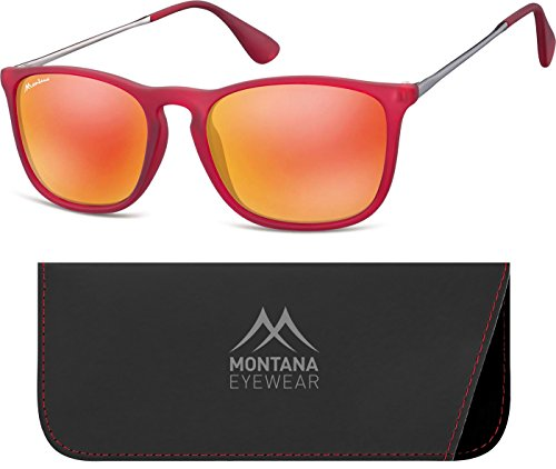Soleil de Multicoloured Revo Mixte Red Lunettes Montana Multicolore Red S4UqE5w