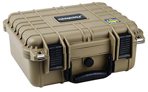 Flambeau Outdoors 1109HD-T HD Series Hard Gun Case, Small-Tan by Flambeau Outdoors (Image #2)