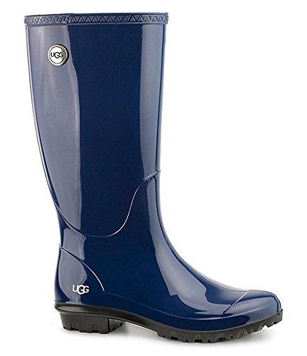 UGG Women's Shaye Rain Boot, Blue Jay, 10 B US (Uggs Rain In The)