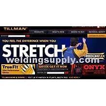 Tillman 650 Top Grain Cowhide Welding Gloves - X-Large by Tillman