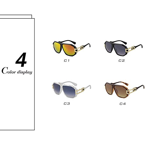 nbsp;lente Gafas capa sol Sport Gris BD4018 Marco gran moda Oculos marca diseño marco de de Mens Plata Fq1rfWFaz
